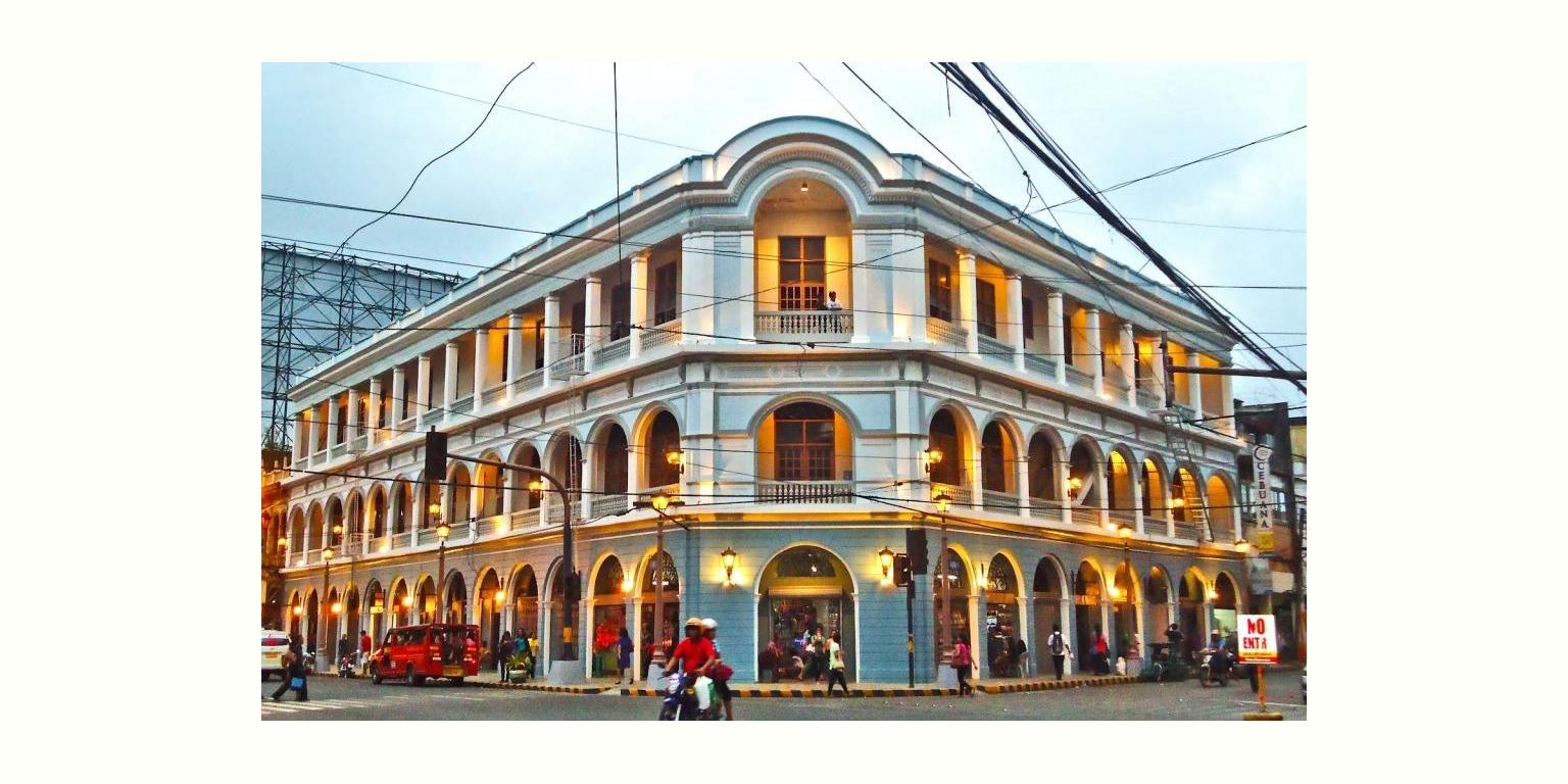 パナイ島イロイロの歴史地区Calle Realに立つインターナショナルホテル  (Calle Real International Hotel, Iloilo City)