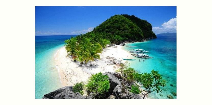 パナイ島はイロイロ(Ilo ilo)州の北端に位置するヒガンテス島 (Isla Gingantes, Carles Iloilo)