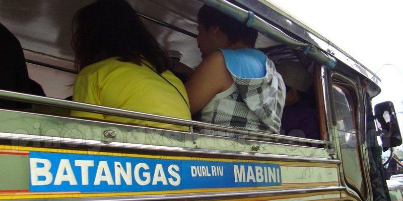 バタンガスとマビニを往復するジープニー (Jeepney : Batangas to Mabini)
