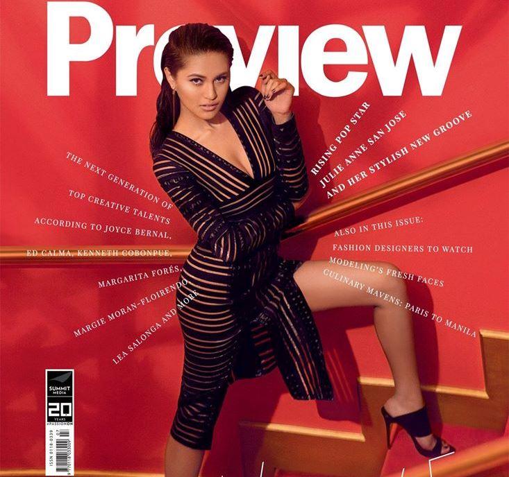 自身の最新シングルと、ゲスト(デュエット)参加したChristian Bautistaのシングルもチャートインしている人気シンガーJulie Anne San Jose