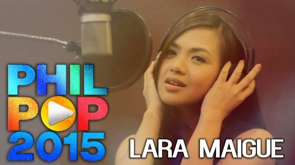 7位に初登場している最新コンピレーション盤「Philpop 2015」に作詞・作曲・歌で参加しているLala Maigue(ララ・マイーグ・ 元Oprera Belles)です。