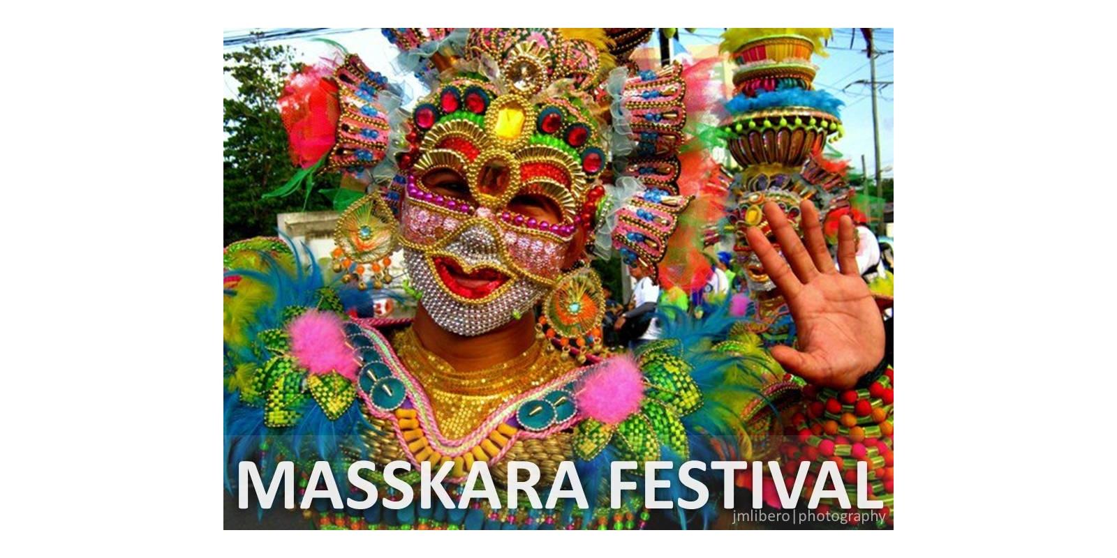 毎年10月第3週にネグロス島西部の州都バコロドで開催されるマスカラ祭り(Masskara Festival in Bacolod)