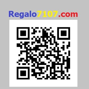 regalo logo and QR