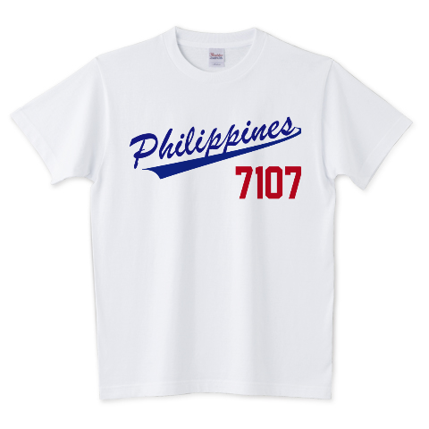 フィリピン ベースボールTシャツ