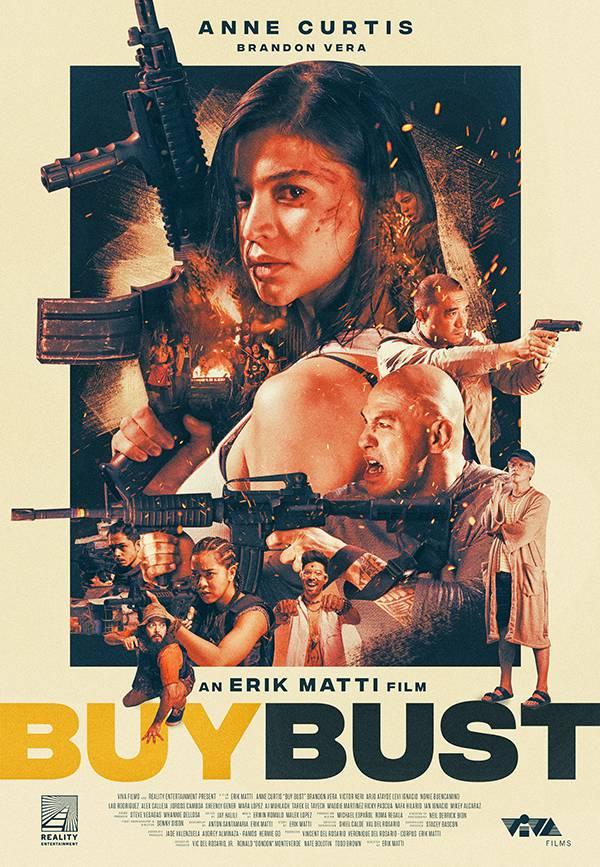 Anne Curtis主演の犯罪バイオレンス映画「Buybust」が1月に日本で公開!