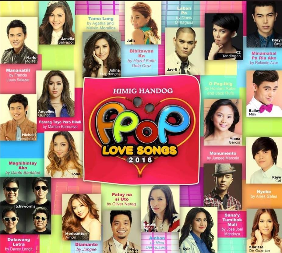 フィリピン国内最新シングルチャート(2016年4月23日~4月29日)