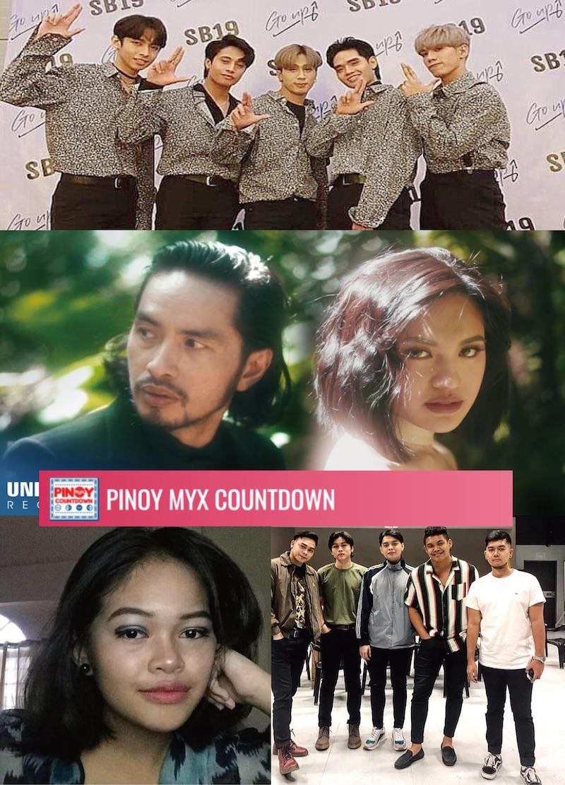 週間最新OPMシングルチャート(フィリピン国内2020年1月18日付け)
